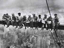 Trabajadores de rascacielos 4